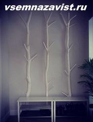 ствол дерева обработанный