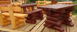Стол 061 + 2 лавочки