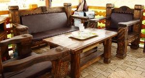 Стол 081 + кресла + лавочка (набор)