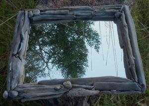 """Зеркало """"Wood & Stone"""""""
